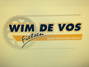 Logo Wim de Vos Fietsen